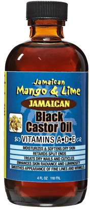 Jamaican Mango & Lime Vitamins A D & E Black Castor Oil