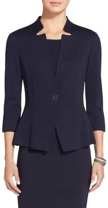 St. John Milano Knit Fitted Jacket