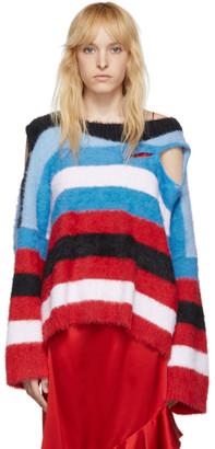 Charles Jeffrey Loverboy Blue Wild Things Sweater