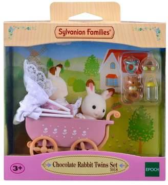 Sylvanian Families Girls Chocolate Rabbit Twins Set