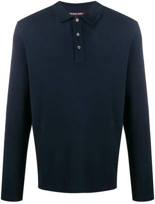 Michael Kors long-sleeved polo shirt