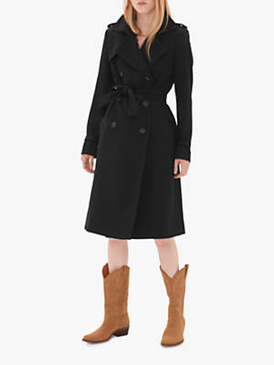 Trench Coat, Mid Brown