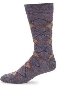 Saks Fifth Avenue Double Argyle Socks
