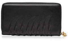 Alexander McQueen Alexander McQueen Embossed Leather Zip-Around Wallet