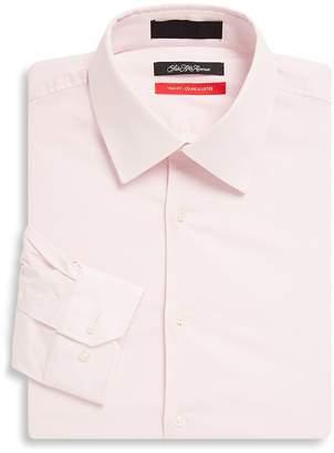 Saks Fifth Avenue Men's Solid Cotton-Blend Long-Sleeve Shirt