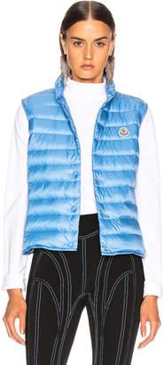 Moncler Liane Vest in Blue | FWRD