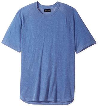 Velvet by Graham & Spencer Men's Cool Cotton Short Sleeve Raglan Tee Shirt in Jersey