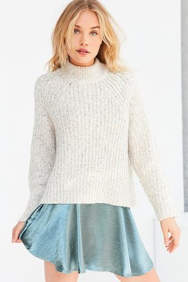 Silence + Noise Easton Mock Neck Sweater $79 thestylecure.com