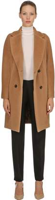 Max Mara 's Rose Brushed Alpaca & Wool Coat