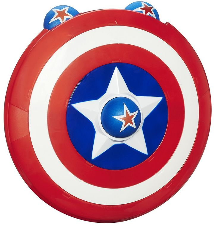 Playskool Heroes Marvel Super Hero Adventures Captain America Shield Launcher by Hasbro
