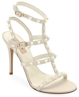 Valentino Rockstud High Strappy Sandals