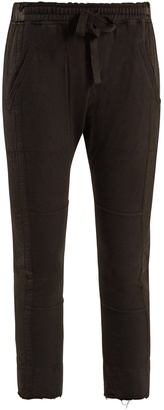 HAIDER ACKERMANN Drawstring-waist cotton cropped trousers $697 thestylecure.com