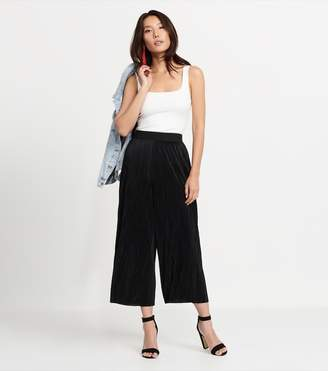 Dynamite Karlie Ultra Pleated Pant - FINAL SALE JET BLACK