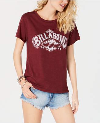 Billabong Juniors' Cotton Logo-Print T-Shirt