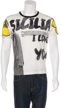Dolce & Gabbana Lemon Print T-Shirt