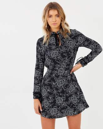 Atmos & Here ICONIC EXCLUSIVE - Genevieve High Neck Dress
