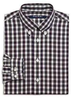Brooks Brothers Boys' Plaid Shirt, Big Kid - 100% Exclusive