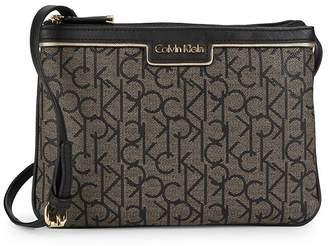 Calvin Klein Women's Hudson Monogram Crossbody Bag