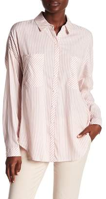 1 STATE 1.State Striped Vented Back Blouse
