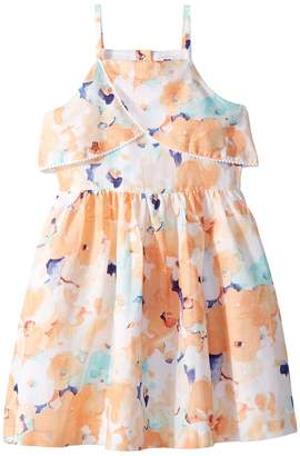 Janie and Jack Sleeveless Watercolor Floral Dress Girl's Dress