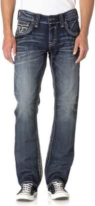 Rock Revival Mens Elber J200 Straight Jeans