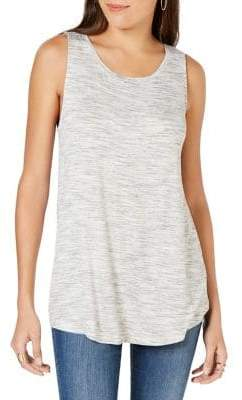 Style&Co. Style & Co. Space-Dyed Tank Top