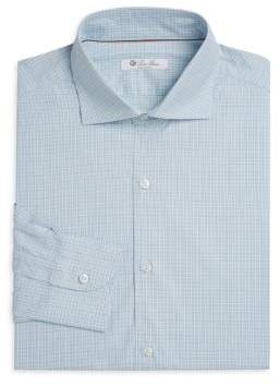 Loro Piana Multi-Check Dress Shirt