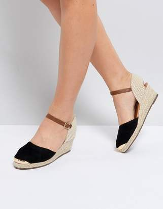 Miss KG Wedge Espadrille With Ankle Strap