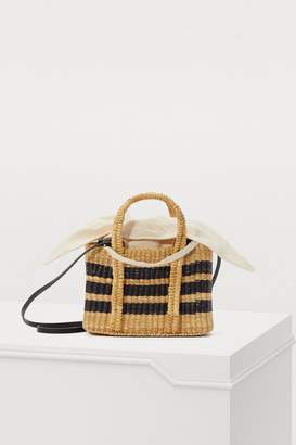 Muun Basket bag with pouch