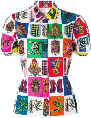 Versace printed blouse
