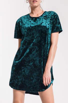 Z Supply Crushed Velour Tie Back Dress