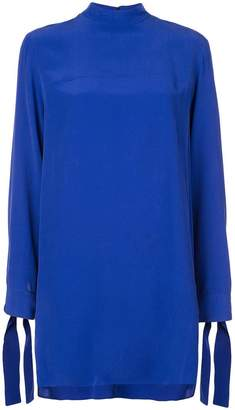 Derek Lam Long Sleeve Mock Neck Tunic