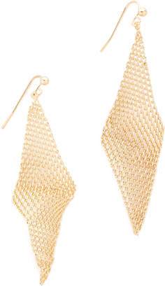 Jules Smith Mini Mesh Wave Earrings $25 thestylecure.com