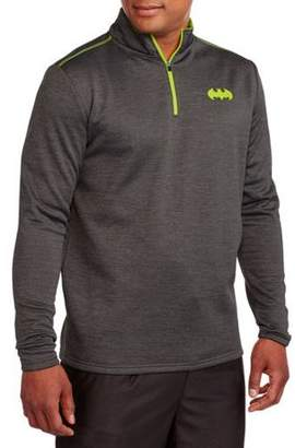 Super Heroes Men's 1/4 Zip Jacket