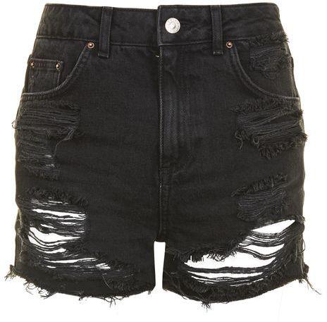 TopshopTopshop Moto longline mom shorts