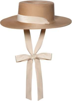 Bijou Van Ness The Heiress Wool Bolero Hat