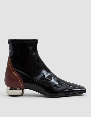 Ellery Stretch Patent Chelsea Boot