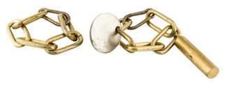 Rick Owens Island Chain Bracelets brass Island Chain Bracelets