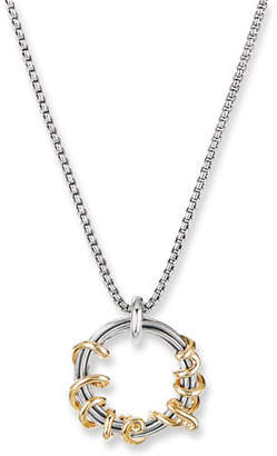 David Yurman Cable Collectibles I Love You Pendant Necklace