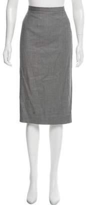 Christian Dior Virgin Wool-Blend Pencil Skirt w/ Tags