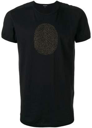 Ann Demeulemeester thumb print T-shirt