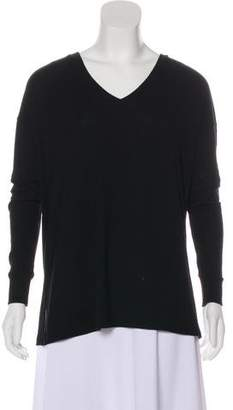 Saks Fifth Avenue V-Neck Long Sleeve Top
