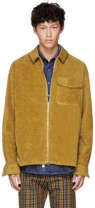 Schnaydermans Yellow Moleskin One Zip Shirt