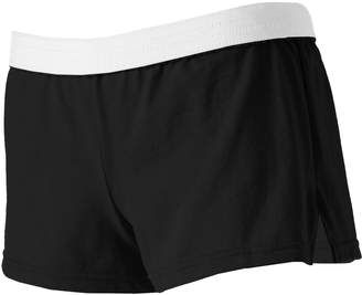 Soffe Juniors' White Band Low-Rise Shortie Shorts