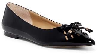 Adrienne Vittadini Fitzi Pointed Toe Flat $99 thestylecure.com