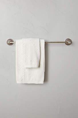 Anthropologie Floral Imprint Towel Bar