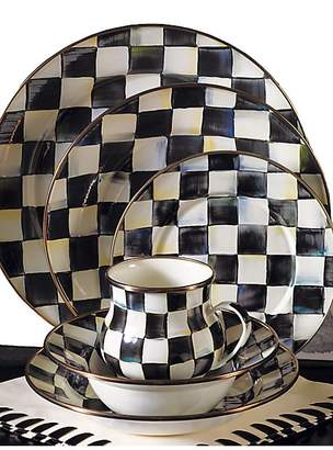 Mackenzie Childs MacKenzie-Childs Courtly Check Charger