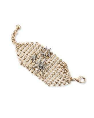 Lulu Frost Radiant Crystal Mesh Bracelet $250 thestylecure.com
