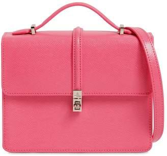 Vivienne Westwood Sofia Saffiano Leather Shoulder Bag