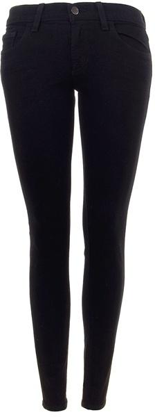 J BRAND - Jett Black 10 inch ankle jeans